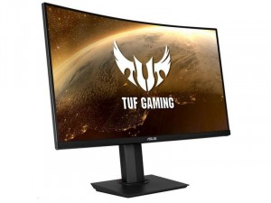 Asus TUF Gaming VG32VQ - 31.5 colos Ívelt 144Hz WLED VA FreeSync HDR Fekete monitor