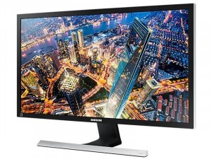 Samsung U28E590DSL - 28 colos 4K UHD TN AMD FreeSync Fekete monitor