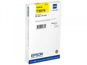 Epson T9074 (C13T907440) - Eredeti Sárga XXL patron