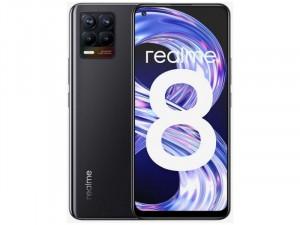 Realme 8 64GB 4GB Dual-SIM Fekete Okostelefon
