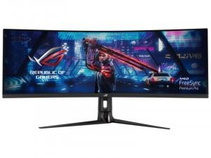 Asus ROG Strix XG43VQ - 43.4 colos Ívelt kijelzős 120Hz WLED VA Fekete Gamer monitor