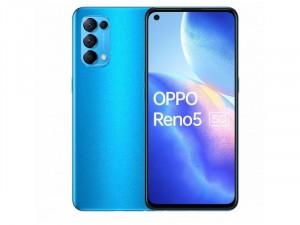 Oppo Reno 5 5G 128GB 8GB Dual-SIM Azúrkék Okostelefon