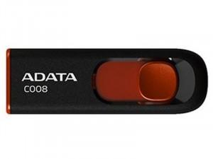 ADATA C008 8GB USB 2.0 Fekete-Piros Pendrive