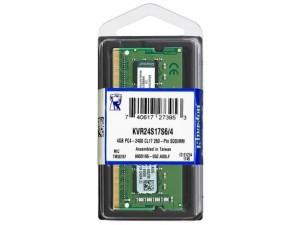 Kingston DDR4 2400MHz 4GB CL17 1,2V Notebook memória