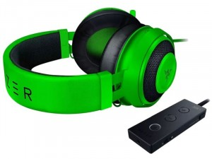 Razer Kraken Tournament Edition Zöld Gamer fejhallgató