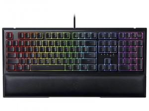 Razer Ornata V2 Chroma RGB megvilágítás, Mecha-Membrán kapcsoló, Multimédia gombok, Fekete Gaming billentyűzet