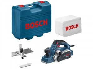 Bosch GHO 26-82 D elektromos gyalu, szerszámtáskában, hatszögkulccsal