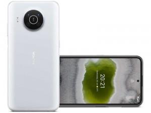 Nokia X10 5G 128GB 4GB Dual-SIM Hó Fehér Okostelefon