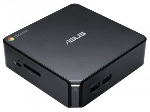 ASUS Chromebox 3, Intel® Core™ i7 Processzor-8550U, 8GB DDR4 RAM, 128GB SSD, FreeDOS , Fekete Asztali Számítógép