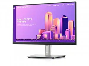 Dell P2222H- 22 colos FHD LED IPS Fekete-ezüst monitor