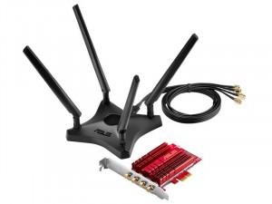 ASUS PCE-AC88 Dual-Band AC3100 PCIExpress hálózati kártya