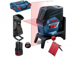 Bosch GCL 2-50 C Professional kombilézer L-BOXX tárolóban, 1 x 2, 0 Ah akkuval, tartozékkészlettel