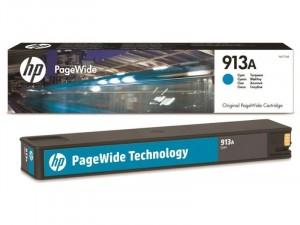 HP F6T77AE (913A) Cián tintapatron
