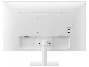 Samsung S27AM501NU - 27 colos FHD VA HDR10 SMART Fehér monitor távirányítóval