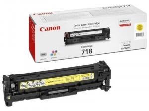 Canon CRG-718Y Sárga toner