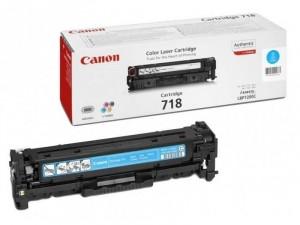Canon CRG-718C Cián toner