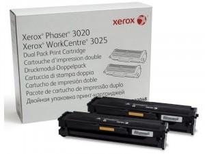 Xerox 106R03048 Fekete Dupla toner