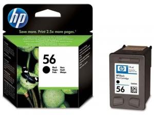 HP (56) Fekete tintapatron