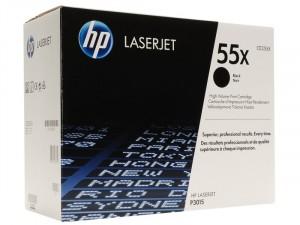 HP (55X) Fekete nagy kapacitású toner