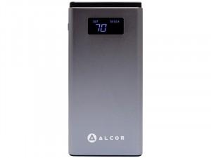 Alcor Hordozható QC10000 Szürke vésztöltő - külső akkumulátor