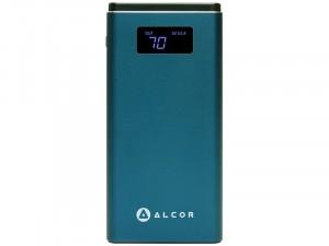 Alcor Hordozható QC10000 Kék vésztöltő - külső akkumulátor