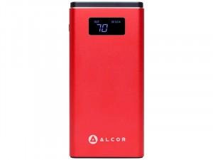 Alcor Hordozható QC10000 Piros vésztöltő - külső akkumulátor