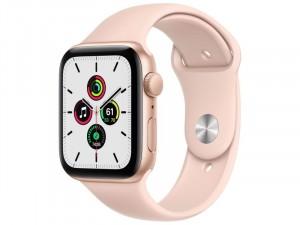 Apple Watch SE GPS 40mm Arany Alumínium Ház Rózsaszín Sportszíjjal