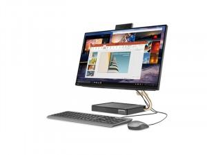 Lenovo IdeaCentre AIO 5, 23.8 colos FHD IPS, Intel® Core™ i5 Processzor-11400T, 8GB RAM, 512 SSD, FreeDOS Számítógép