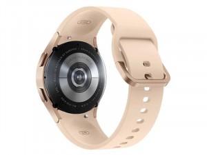 Samsung Galaxy Watch 4 R860 Bluetooth Alumínium házas 40mm Rózsaarany Okosóra, Bézs sportszíjjal