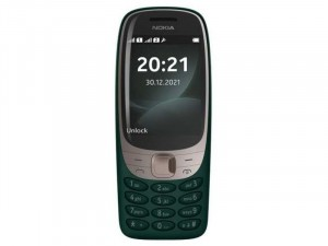 Nokia 6310 2021 Dual-SIM Sötét Zöld Mobiltelefon