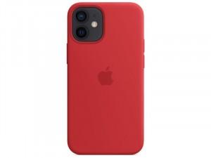 Apple iPhone 12 mini Eredeti Apple MagSafe Piros Szilikon tok