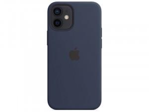 Apple iPhone 12 mini Eredeti Apple MagSafe Mély Tengerészkék Szilikon tok