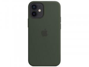 Apple iPhone 12 mini Eredeti Apple MagSafe Ciprus Zöld Szilikon tok