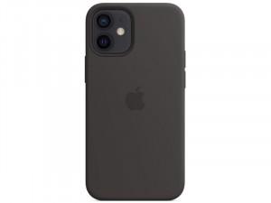 Apple iPhone 12 mini Eredeti Apple MagSafe Fekete Szilikon tok