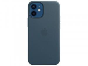 Apple iPhone 12 mini Eredeti Apple MagSafe Balti Kék Bőr tok