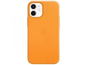 Apple iPhone 12 mini Eredeti Apple MagSafe kaliforniai pipacs Bőr tok