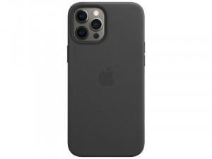Apple iPhone 12 Pro Eredeti Apple Fekete Bőr tok