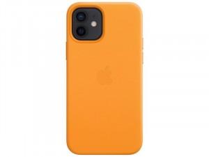 Apple iPhone 12 Eredeti Apple kalifornai pipacs Bőr tok