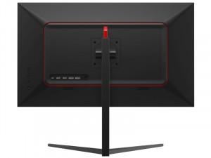 LC Power LC-M27-4K-UHD-144 - 27 colos 144Hz-es IPS Adaptive Sync HDR400 Fekete-Piros monitor