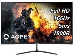 AOPEN 32HC5QRPbiipx - 31,5 colos 165Hz FHD VA Ívelt , FreeSync Premium Fekete Gaming monitor