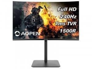 AOPEN 32HC5QRZbmiiphx - 31,5 colos 240Hz FHD VA Ívelt , AdaptiveSync Fekete Gaming monitor