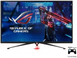 Asus ROG Strix VG328H1B - 43 colos 4K HDR 120Hz WLED VA FreeSync Premium Fekete Gamer monitor