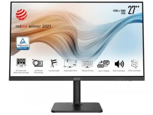 MSI Modern MD271P - 27 colos FHD IPS LED Fekete monitor