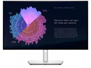 Dell UltraSharp U2722DE - 27 col InfinityEdge QHD USB-C Fekete-Ezüst Monitor