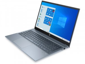 HP Pavilion 15-eg0001nh, 15.6 FHD, Intel® Core™ i5 Processzor-1135G7, 8GB DDR4, 512GB SSD, Intel® Iris Xe Graphics, Win10 Home, Kék laptop