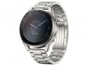 Huawei Watch 3 Pro 48mm Titánium Szürke Okosóra Titánium Ezüst szíjjal