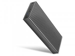 Axagon EEM2-XR USB-C M.2 NVMe SSD külső ház