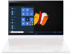 Acer ConceptD 7 Ezel Pro CC715-71P-74DS 15,6 UHD 4K TOUCH, Intel® Intel® Core™ i7 Processzor-10875H, 16GB, 1TB SSD, NVIDIA Quadro RTX3000 6GB, Win10 Pro, Fehér laptop