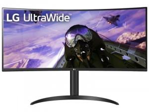 LG 34WP65C-B - 34 colos QHD VA 21:9 160Hz Ívelt kijelzős Fekete Gamer monitor