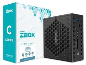 ZOTAC ZBOX-CI331NANO-BE Intel® Celeron Quad Core™ N5100, 2x DDR4 RAM, Háttértár foglalat, Asztali Számítógép